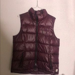 Pink brand by VS Maroon colored vest size M